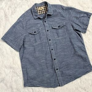Woolrich Men's Button Down Shirt Sz XL